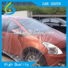 2015 hot sale waterproof dustproof plastic car cover