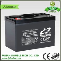 manufacture automotive battery deep cycle solar battery 12v 100ah