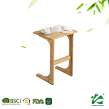 Modern houseware bamboo laptop table desktop computer table