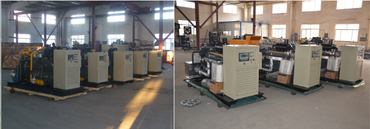 15 kW Natural gas\Biogas\Biomass gas\coal gas generator