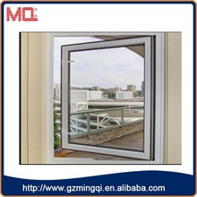 factory wholesale upvc plastic window single pane