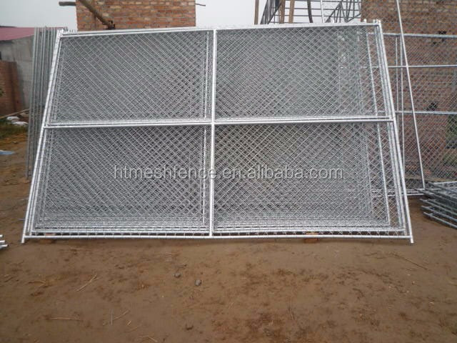 American 50*50 mm mesh hole construction site temporary chain link fence