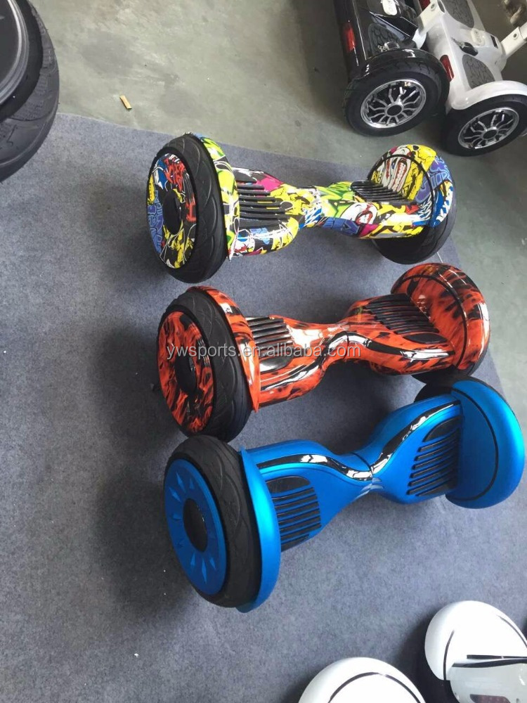 CE ROHS Certificated Self Balance Scooter 10 Inch Hoverboard With Bluetooth Speaker 2 Wheel Scooter
