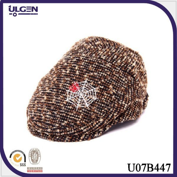 2014 New Fashion Style Kids Knitting Cheap Toddler Beret Hat