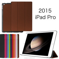 Folding Leather Tablet Cases For Apple iPad Pro 12.9 inch Stand Case, Smart Cover For iPad Pro 9.7 Case