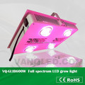 Green house lamp cob led grow light full spectrum with heat sink reflector