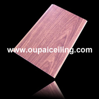 pvc wall panel strip with colorful design