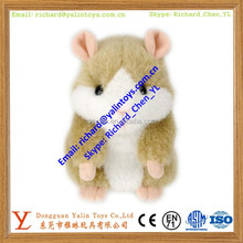 Cute Hamster Doll Soft Stuffed Mouse Toys