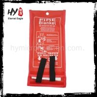 Manufacturing Fire Blankets in a red bag,Hot sale fire blanket price for fire protection,fire proof fire blanket