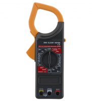 Clamp Meter, Clamp Multimeter with AC Current Resistance Voltage Continuity Testing
