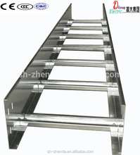 Steel cable ladder, ladder cable tray