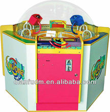 Funny Cyclone kiddy love lottery game machine