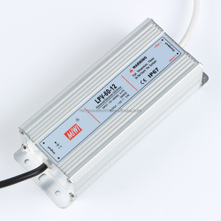 Mingwei LPV-60-12 waterproof IP67 60W 12V 5A LED power supply
