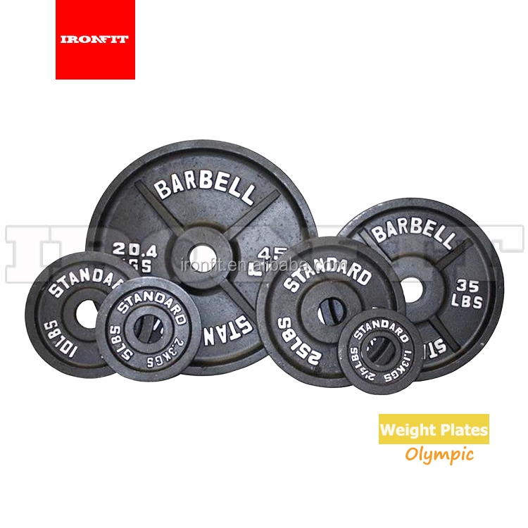 Wholesale Professional Competition Cast Iron Macroporous Weight Plates