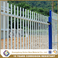 Cheap Price Tubular Steel galvanized fencing