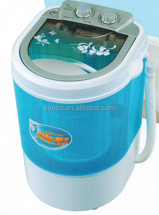 2016 New Product Single Tub Semi Automatic Portable Cheap Mini Washing Machine