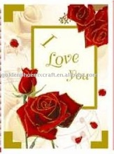 Customized Valentine Music Paper Greeting Card