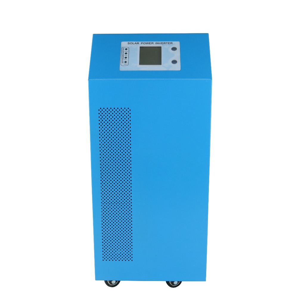 5kw pure sine wave power solar charge controller inverter dc 12v ac 220v 5000w 10000w