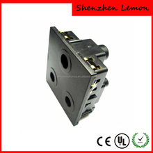 Shenzhen factory supplier wall outlet power socket south africa india electric socket 6A/16A 250V