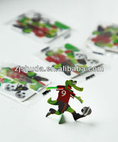 2013 Hot promotional 3D mini plastic crocodile puzzle for food/for kids,kids toy/car
