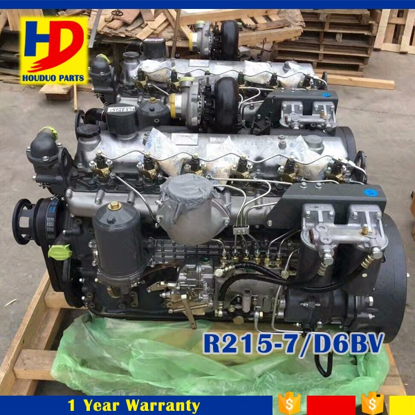 Hyundai Engine Assy D6BV For R215-7 Engine