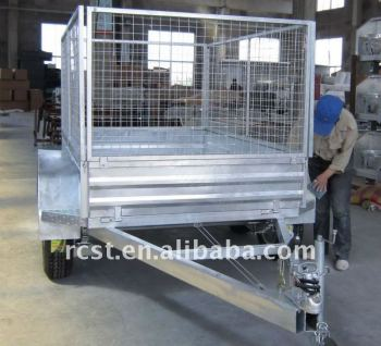 hot dipped galvanized tandem utility trailer