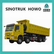 howo dump truck 8x4 45ton capacity for sale