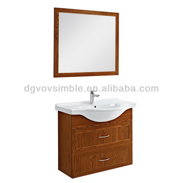 Eco-friendly,waterproof Customized MDF Bathroom Vanity,Customized MDF Bathroom Cabinet,Wooden Bathroom Furniture Made In China