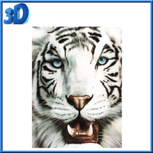 Wholesale 3d pictures natural animation of tiger,3d picture for decoration