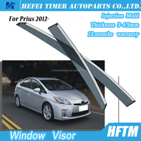 12 months warranty window visor car parts accessories door visor for Prius 2012-