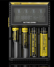 Nitecore D4 Digicharger LCD Display 18650 battery charger LCD Display Battery d4 Charger