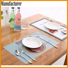 AY New Design Silicon Table Mat Table Mate For Kids Dining Table Mats For Home Decoration, Rubber Placemat