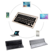 Top sell ultra slim folding wireless bluetooth keyboard for 5 inch apple mac pc laptop new ipad