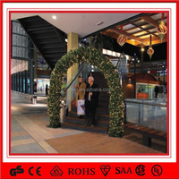 gate/doorway 5m outdoor christmas lighted led garland arch lights