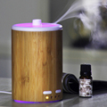 Bamboo Aromatherapy Diffuser Essential Oil Aroma Diffuser Water-less Auto Shut-Off for Home Office Spa