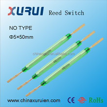 5*50mm SPST & SPDT Golden Contact Magnetic Reed Switch China Supplier