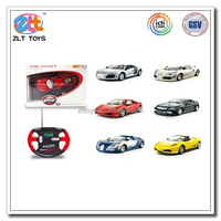 1:43 model car wholesale rc alloy car, universal rc car remote control