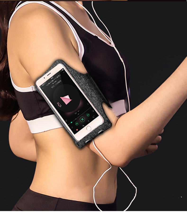 In stock sport arm band  / Running sports fitness armband cell phone holder  lycra armband for mobile phone Ready goods