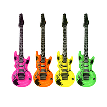 Promotional inflatable beautiful design giant pretty inflatable guitar toy