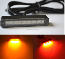 LED License Plate Rear Tag Light Motorcycle Chopper SportBike Streetbike Cruiser