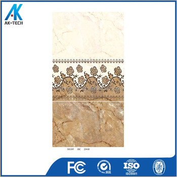250x400mm large size toilet wall tile design , wall decoration fiber tile ceramic