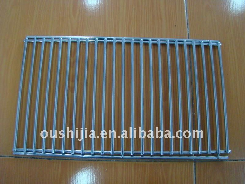 Welding square barbecue grill netting