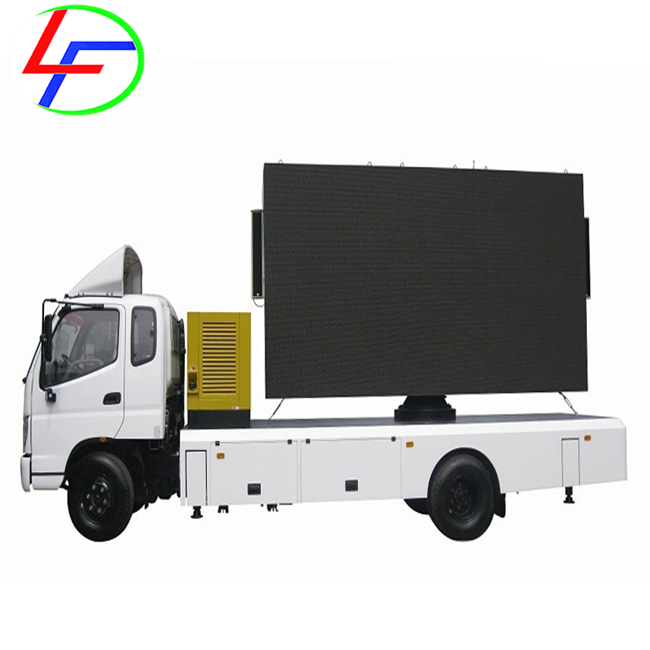 bus advertising outdoor walking billboards traffic led display screen