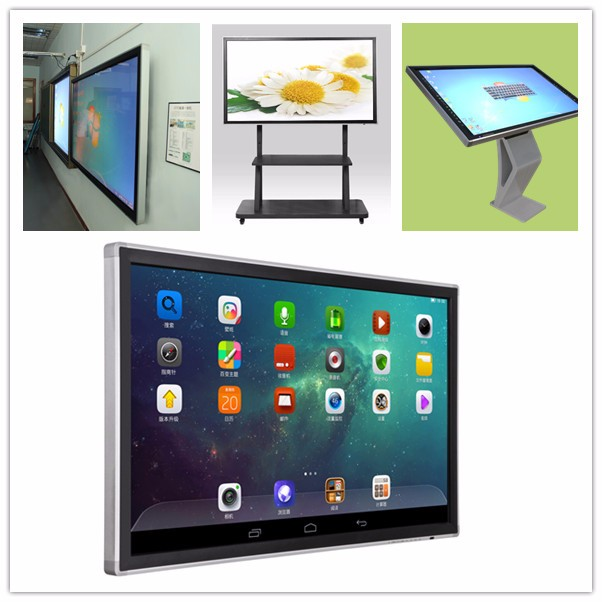 Multi touch 50 55 65 70 75 84 86 inch interactive touch screens for education
