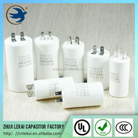 Single-phase AC motor capacitor 450v 8uf for washing machine