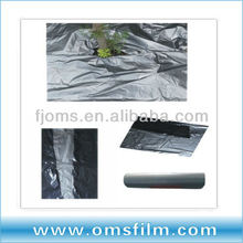 dongguan agricultural poly film plastic products silver black color
