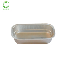 Airline aluminum foil food container for chocolate wrapping