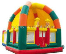Lovely Mini Trampoline Babies Favorite Indoor Inflatable Castle For Sale
