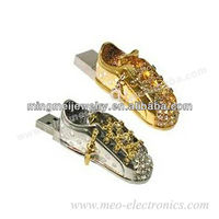 Telescopic Shoe Shape Jewelry USB Stick with 1gb/2gb/4gb/8gb/16gb/32gb/64gb, USB Flash Drive