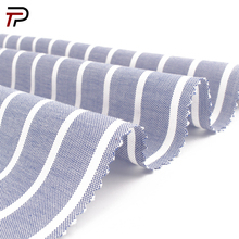 New Design 100% Cotton Stripe Yarn Dyed Woven Fabric for Shirt